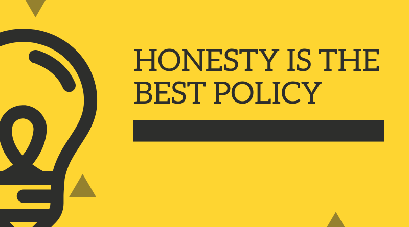 A Very Short Story On Honesty Is The Best Policy featured