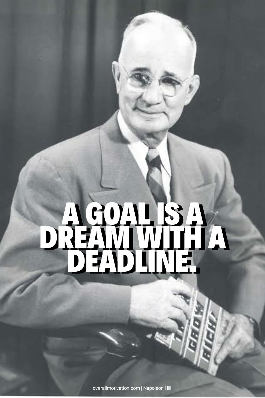 A goal is a dream...