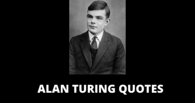 ALAN TURING QUOTES FEATURED