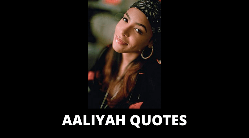 Aaliyah Quotes featured
