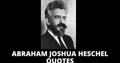 Abraham Joshua Heschel Quotes featured
