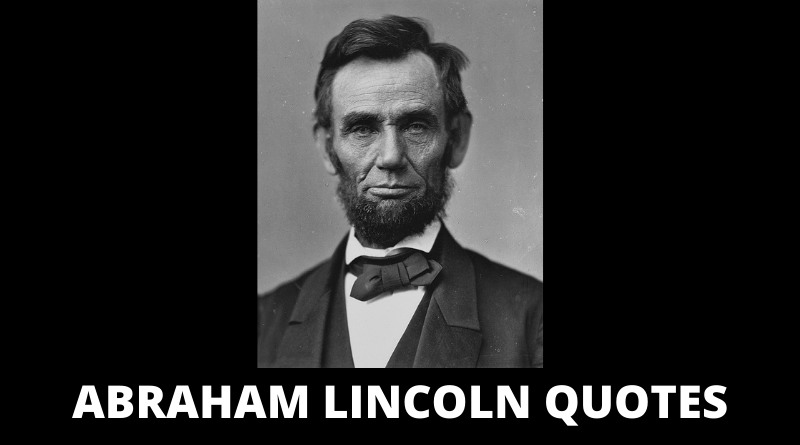 Abraham Lincoln quotes featured