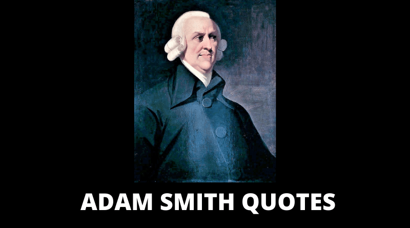 Adam Smith Quotes featured