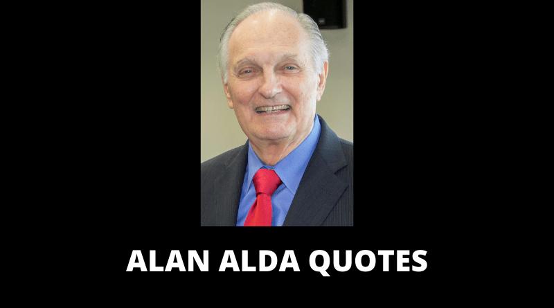 Alan Alda Quotes featured