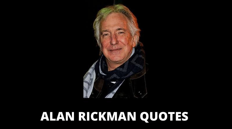 Alan Rickman quotes featured