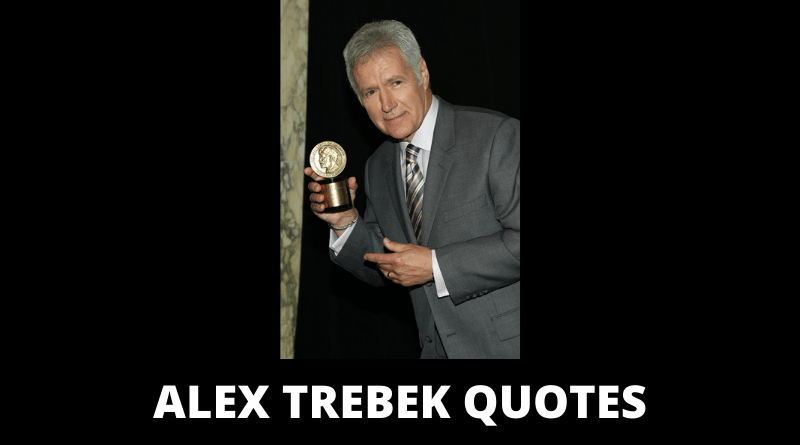 Alex Trebek Quotes featured