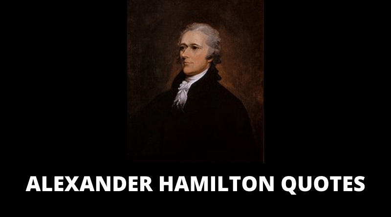 Alexander Hamilton Quotes featured