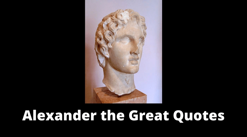 Alexander the Great quotes featured