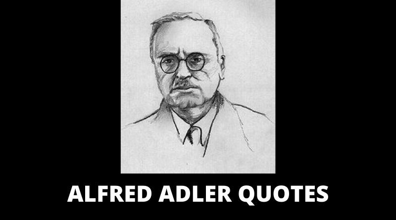 Alfred Adler Quotes featured