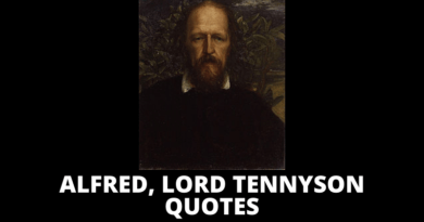 Alfred Lord Tennyson quotes featured