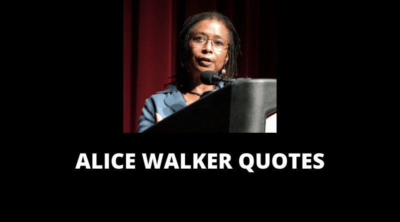 Alice Walker Quotes featured