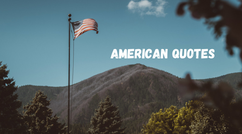 American quotes featured