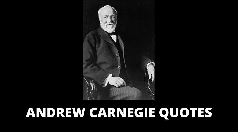 Andrew Carnegie quotes featured