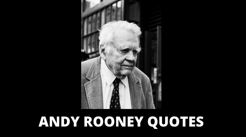 Andy Rooney quotes featured