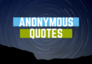Anonymous Quotes Featured