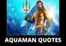Aquaman Quotes featured