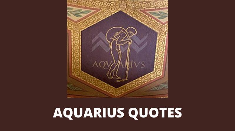 Aquarius Quotes Featured