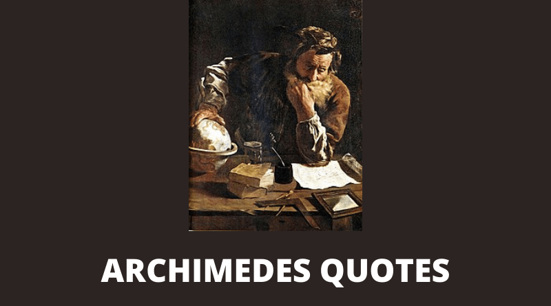 Archimedes quotes featured