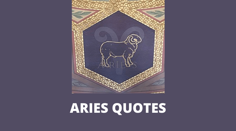 Aries Quotes Featured
