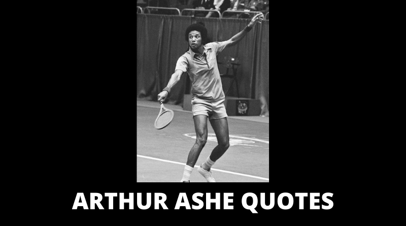 Arthur Ashe quotes featured