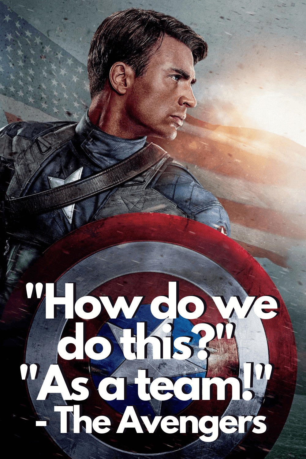 As a team Captain America quotes