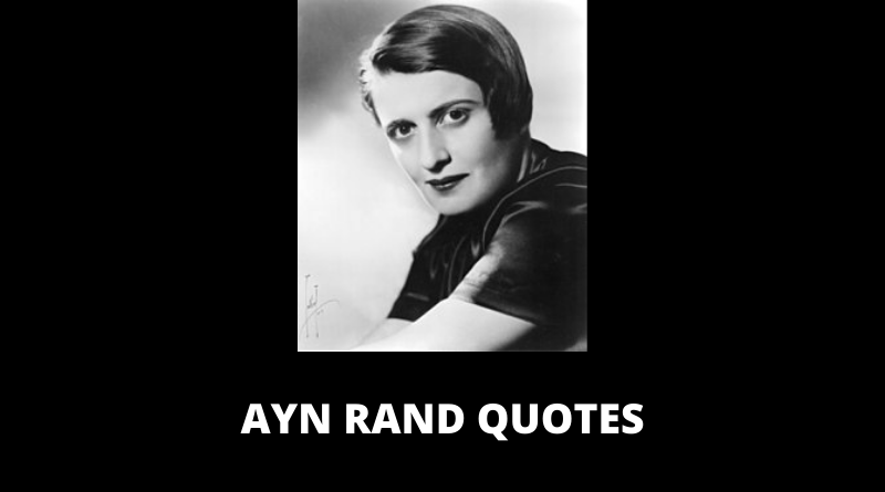 Ayn Rand Quotes featured