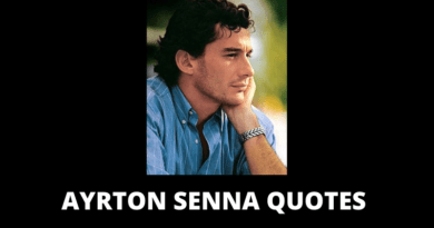 Ayrton Senna quotes featured