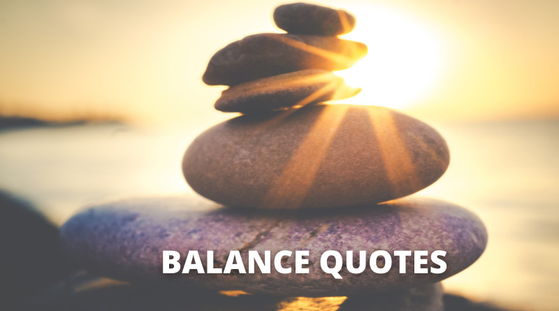 BALANCE QUOTES FEATURE