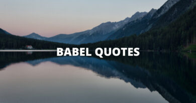 Babel Quotes Featured