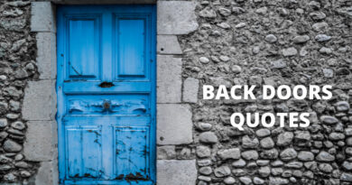 Back Door Quotes Featured