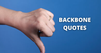 Backbone quotes featured