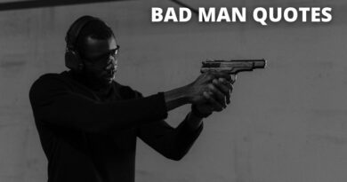 Bad man quotes featured