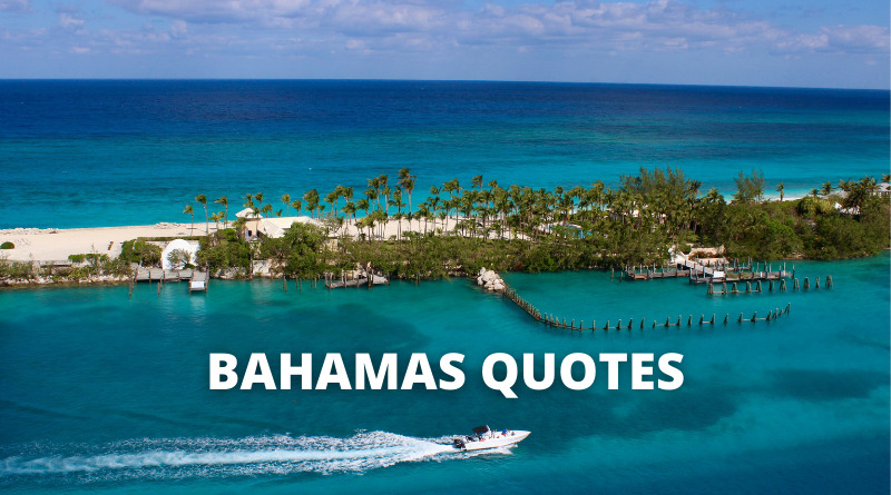 Bahamas quotes featured