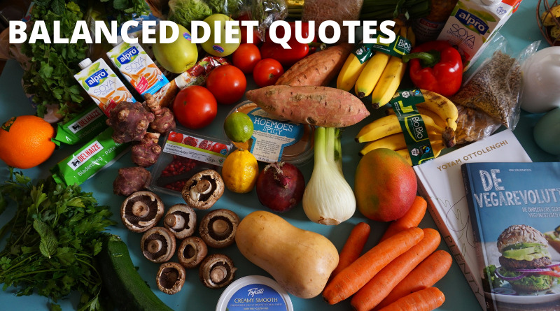 Balanced Diet Quotes Featured