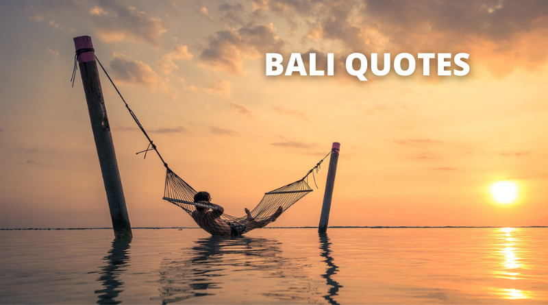 Bali Quotes featured