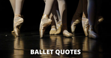 Ballet quotes featured