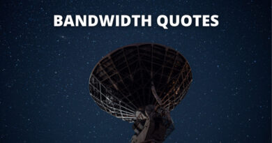 Bandwidth quotes featured
