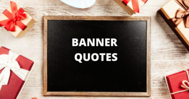 Banner quotes featured