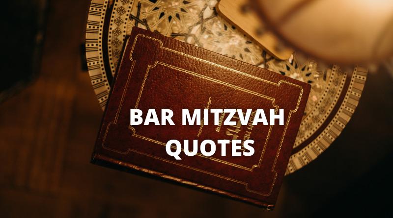Bar mitzvah quotes featured