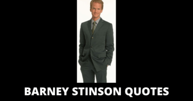 Barney Stinson Quotes Featured