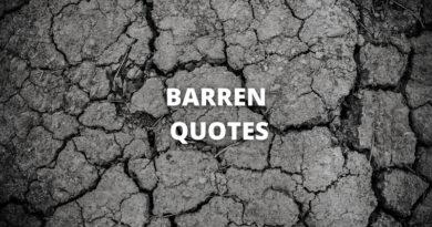 Barren Quotes featured