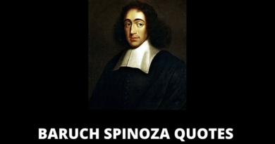 Baruch Spinoza quotes featured