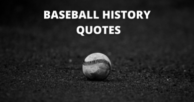Baseball History Quotes Featured