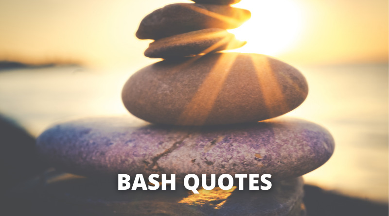 Bash quotes featured