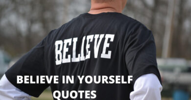 Believe In Yourself quotes featured
