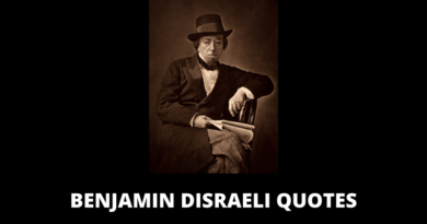 Benjamin Disraeli Quotes featured