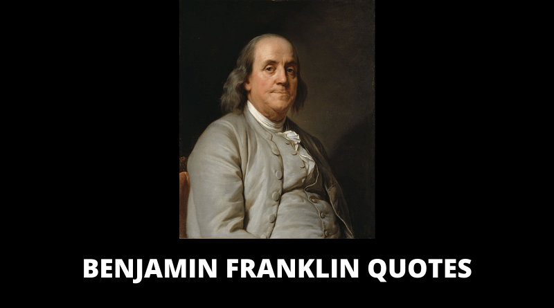 Benjamin Franklin Quotes featured