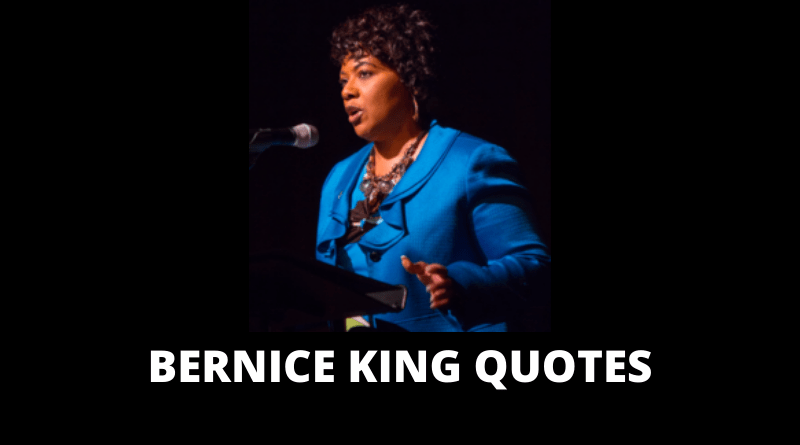 Bernice King quotes featured