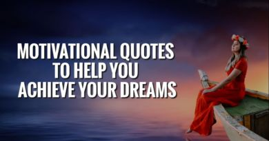 Best Motivational Quotes For Success In Life