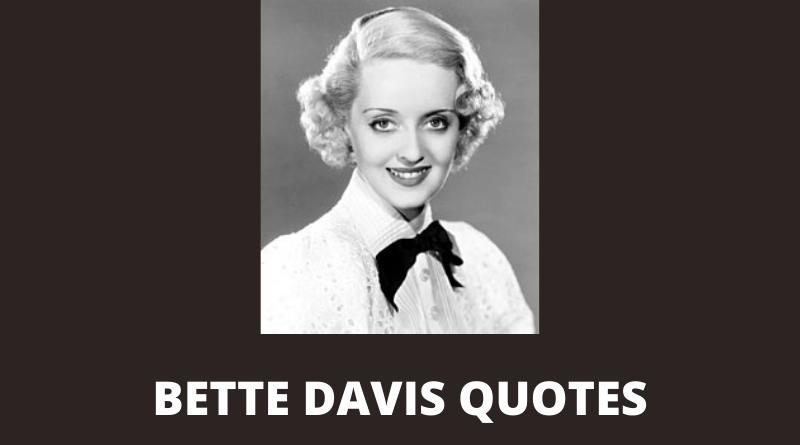 Bette Davis quotes featured